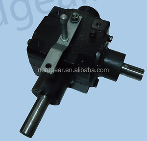 540 to 1000 pto gearbox with iron housing