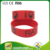 European style printing custom silicone rubber bracelets wristband