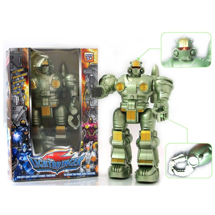 Electronic Toy Walking Robot Hot Sale Child Plastic Toy