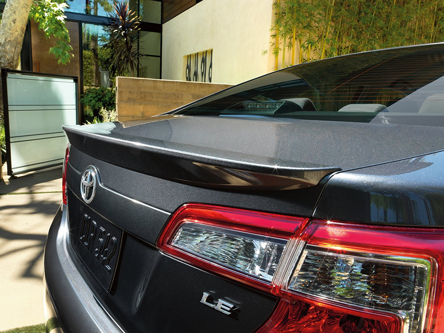Get Quotations · Rear Spoiler for 2012 Toyota Camry Magnetic Gray OEM