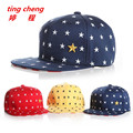 3 colors fashion star embroidery children baseball cap baby girl playing hip hop hat cap rapid