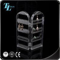 Creative acrylic rack earring jewellery tray jewelry display