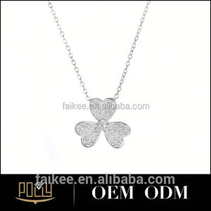 pendant wholesale zircon flower necklace in china hidden camera pendant