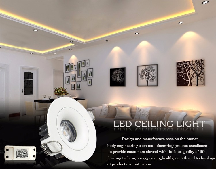 IP54 7W Latest Wholesale Prices pir sensor led downlight