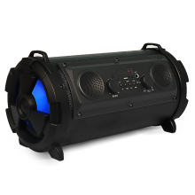 Produk Baru Baru Portabel Subwoofer <span class=keywords><strong>Karaoke</strong></span> Bt <span class=keywords><strong>Speaker</strong></span> Colorful LED Silinder Super Bass