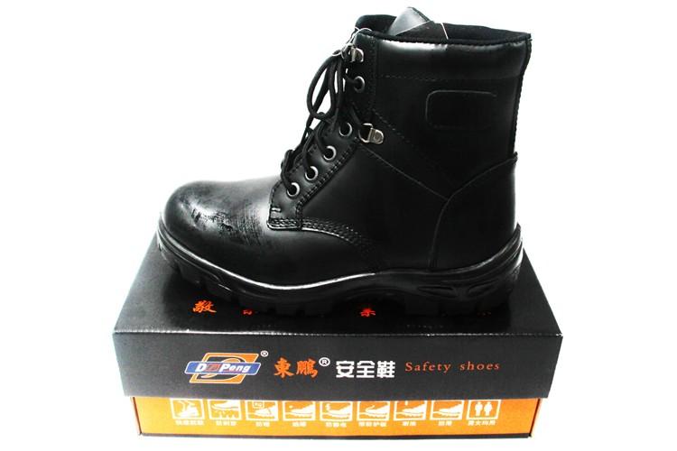 Buffalo Stiefel in schwarz aus glattem Leder online kaufen