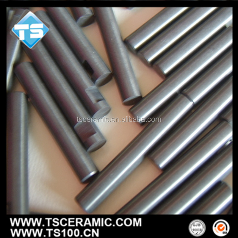 Polished Black Silicon Nitride SI3N4 Ceramic Rod