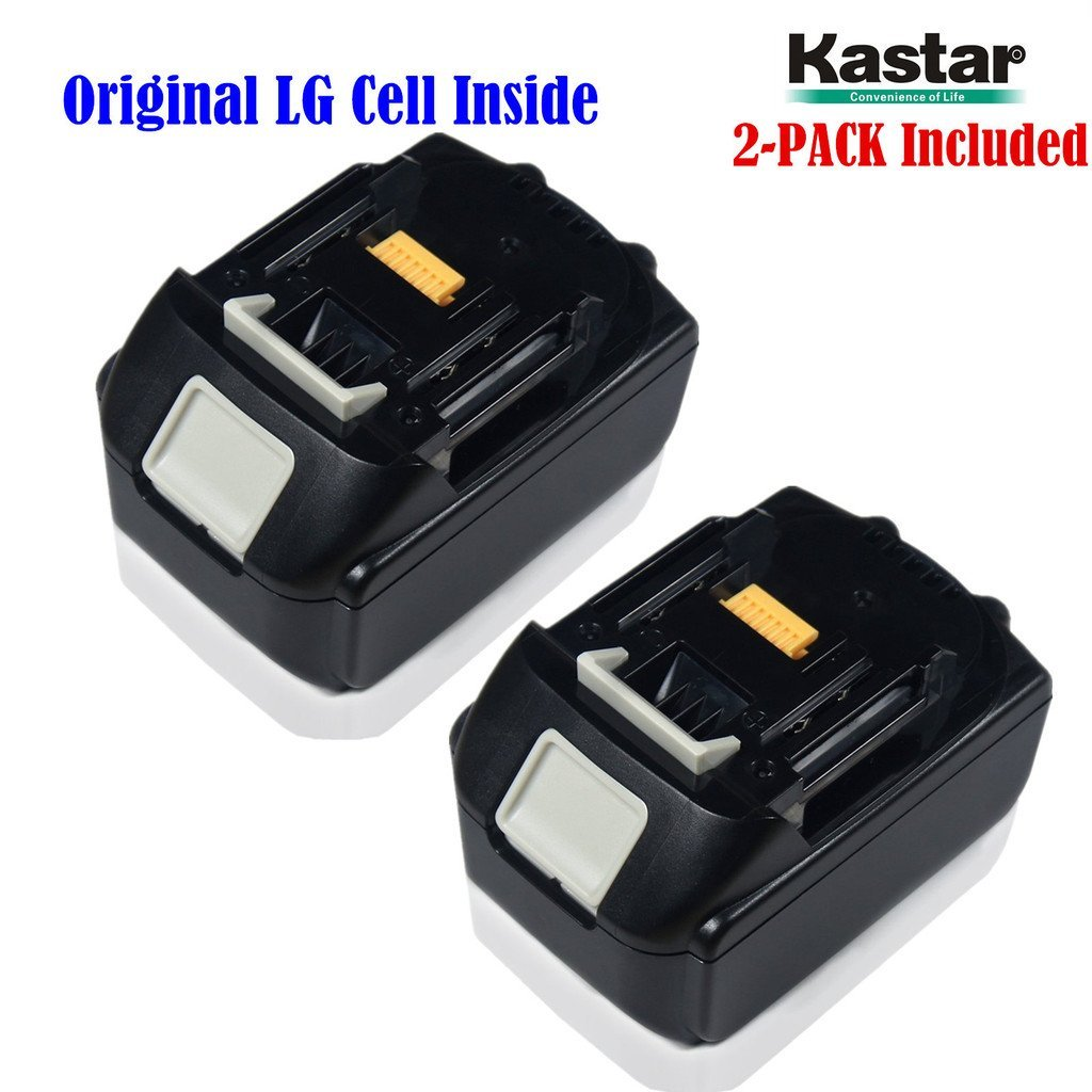 Kastar BL1830 Rechargeable Battery (2-Pack) Replacement Makita BL1830 18-Volt 3.0Ah (3000mAh) Lithium-Ion Battery for Makita BL1830, BL1815, BL1835, LXT-400, 194205-3, 194309-1 (Supper Fast and Free Shipping from USA--18-Month Warranty)