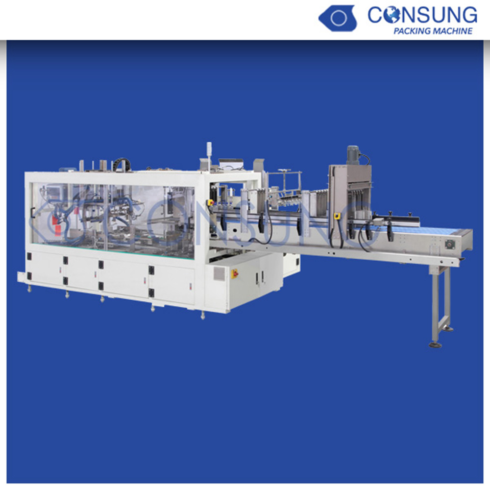 fully automatic wrap around case packer for A4 copy paper ream