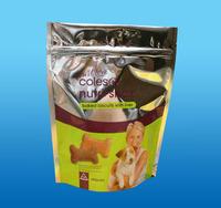 New design cheap wholesale zipper plastic bags food processing industries