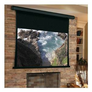 "Premier Grey Electric Projection Screen Viewing Area: 120"" H x 120"" W"