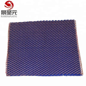 copper/brass silicon gel cushion pad for short cycle hot press machine