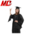 Classic master bat wing sleeve graduation gown