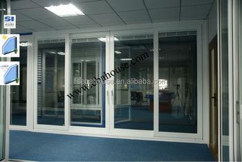 energy efficient large interior aluminium sliding door glass door sliding door with built in. Black Bedroom Furniture Sets. Home Design Ideas