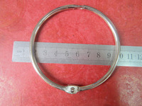 Factory Supply Cheap Price Metal Book Ring,Metal Loose-leaf Book Ring,Office Book Binder Rings