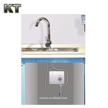 Under The Sink For Bathroom Kitchen Instant Electric Tankless Hot Water  Heater System For Tap Faucet