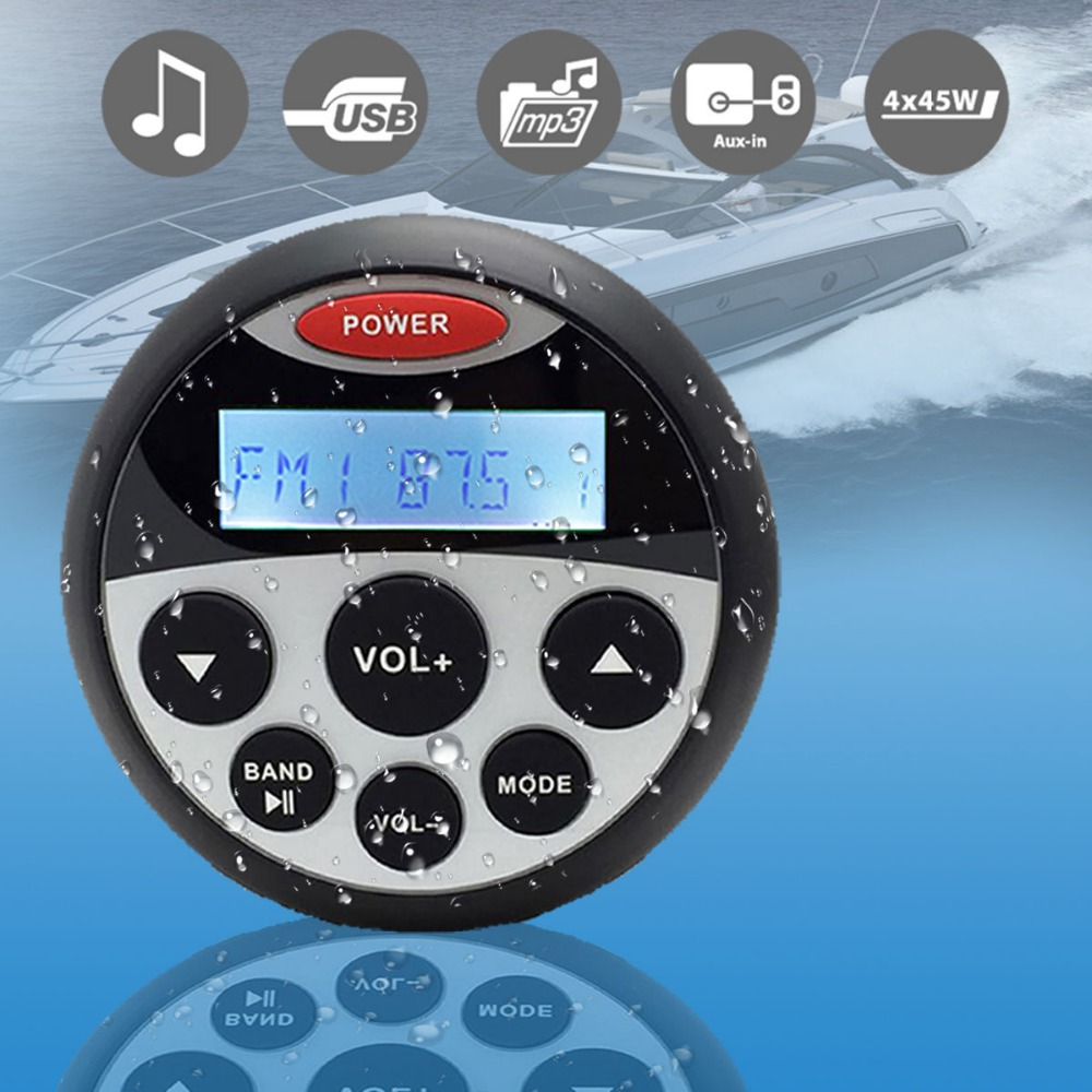 cheap price Marine Stereo MP3 player With Radio, Bluetooth