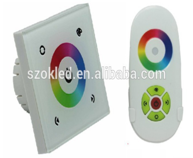 Hot Sale! Full-color led touch controller with remote (European standard)