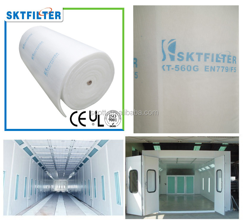 Ceiling filter with glass fiber net hotsale in America