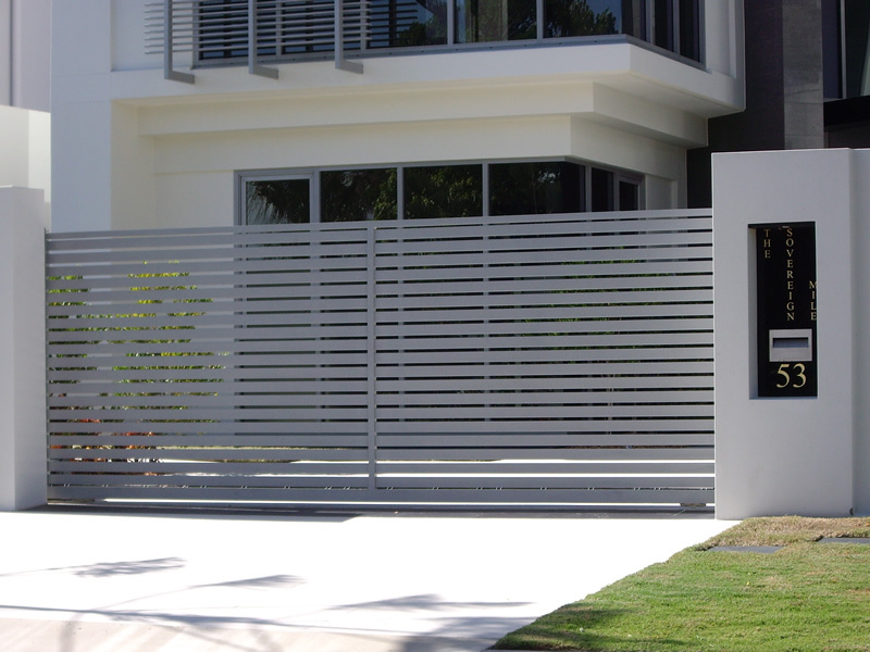 Aluminium Home Sliding Gate Designs for Homes, View Sliding Gate ...