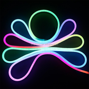 Waterproof IP68 SMD5050 multi-color PVC digital RGB neon 12v ws2811 Pixel Chasing LED Neon flex