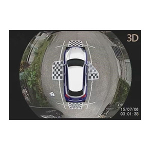 Car Top View Camera System 360 Degree Car Security Camera Bird View Wide Angle Waterproof IP67