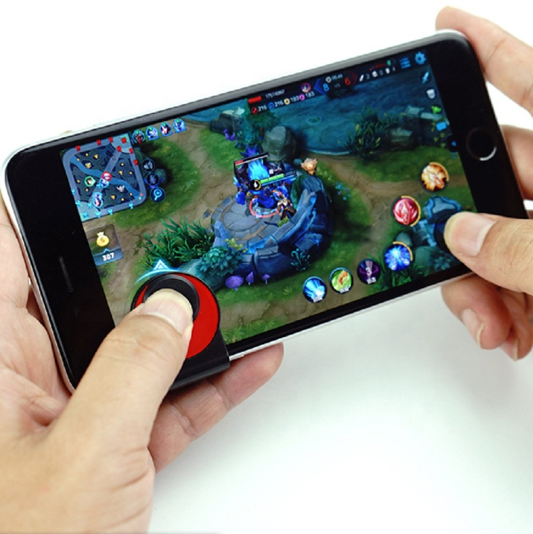 Mini joystick for Mobile Phone Mobile Joypad Game <strong>Controller</strong> for Apple Sumsung Pad