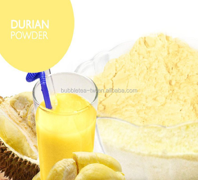Taiwan Bubble Tea Powder Instant Durain Flavor Powder