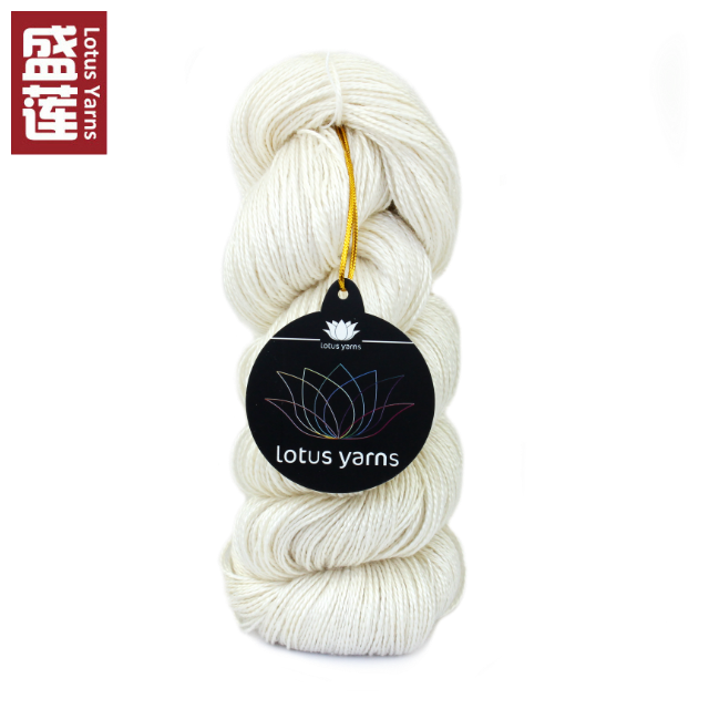 China 2/8nm top natural undyed 100% mulberry silk yarn price