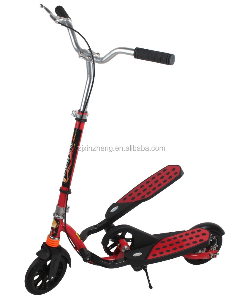 Double-Wings Flyer Ellipitical Stepper Style Fitness Scooter/big wheels kick scooter