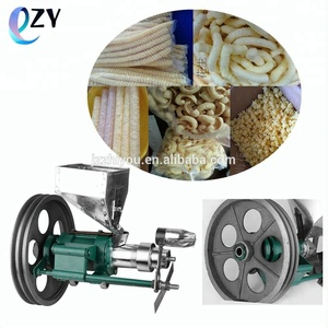 low cost Snack Pellet Extruder/Snacks Puffed Corn Snacks Making Machine