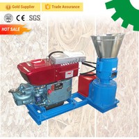 movable corn cob home scale small pellet mill