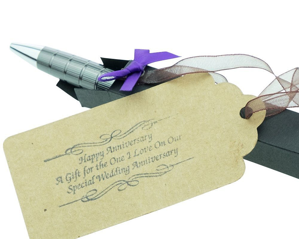Buy 11th Wedding Anniversary Pen Gift For Him Her With