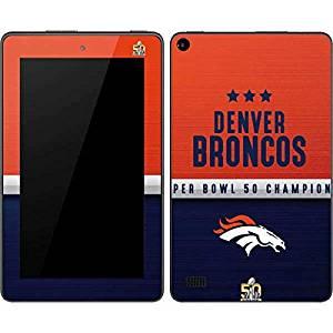 NFL Denver Broncos Kindle Fire (7in, 2015) Skin - Denver Broncos Super Bowl 50 Champions Vinyl Decal Skin For Your Kindle Fire (7in, 2015)