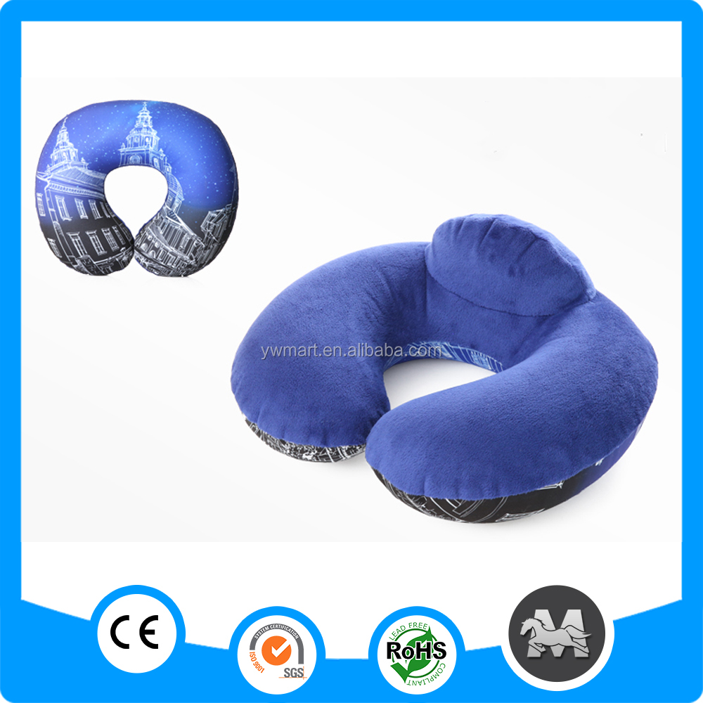 100% cotton super soft travel pillowpillow with hole promotion