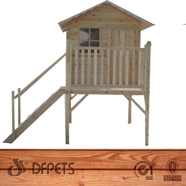 los nios solowave de madera de cedro playcentre nios de madera casa de juegos de jardn