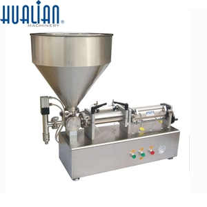 PPF-1000T HUALIAN Paste Piston Filler Packing Filling Machine