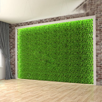 Hot selling artificial garden fake green wall hang plant for indoor or outdoor decoration