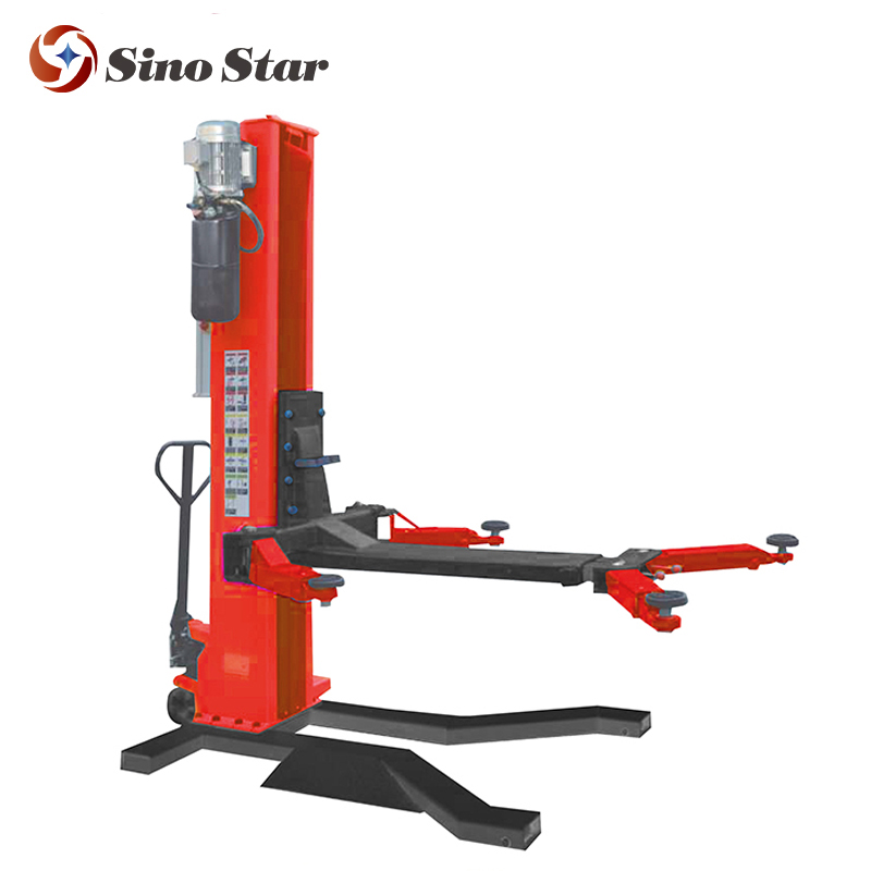 Single post car lift/ mobile one car hoist /car lifting system (SS-6125E-X1)