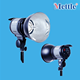 continuous with quartz studio lighting for photography and video -B510