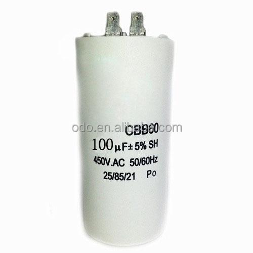 Motor Capacitor 450V AC 100 uF CBB60