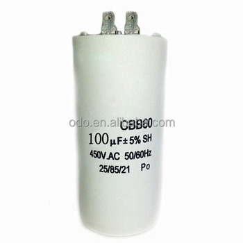 Odoelec Price List Of Capacitor 450v 100uf 4pins Cbb60 Ac Motor