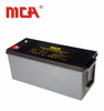 High quality solar inverter 12v 200ah deep cycle battery