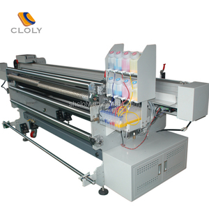 Dgt Textile Printer spread printing to print on silk fabrics cotton direct printing integrated machine for sale