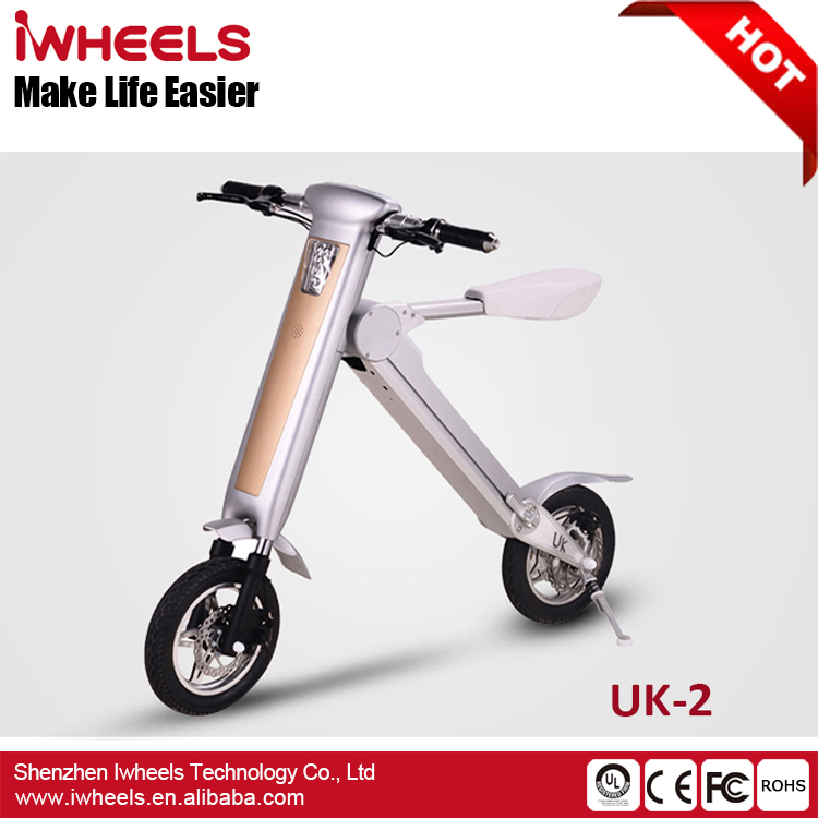 High Power 12inch 500W Foldable Electric Scooter Mobility Bicycle