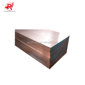 T1 T2 T3 TU0 4x8 size 1mm copper clad steel sheet copper plate