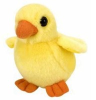High qualtity yellow stuffed chicken toys plush