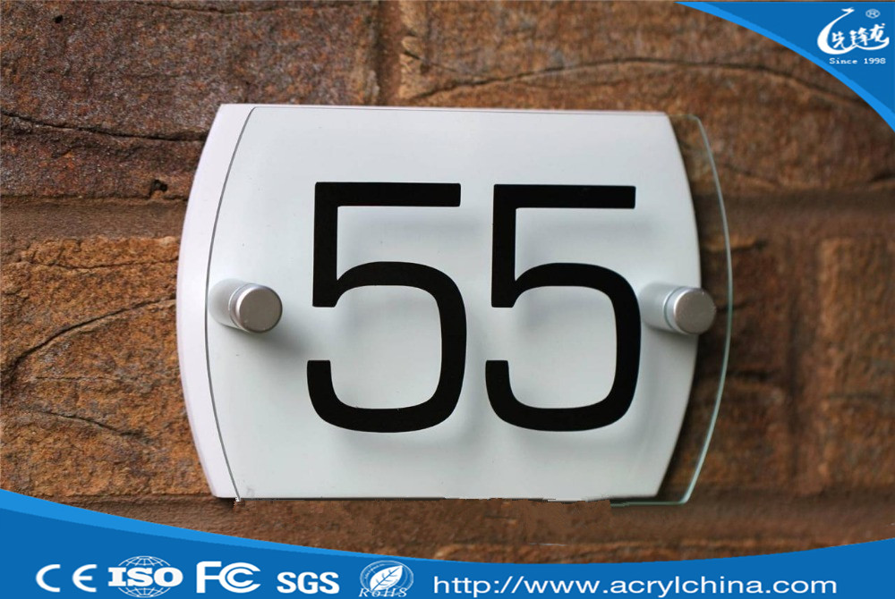 New stype manufacture china supplier office door sign with logo printing