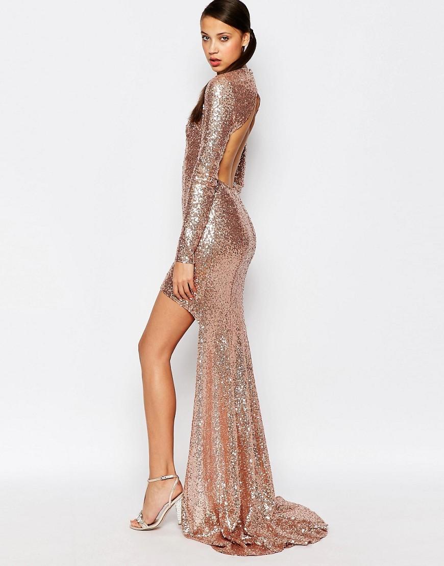 Popular Rose Gold Sequin Dress-Buy Cheap Rose Gold Sequin ...