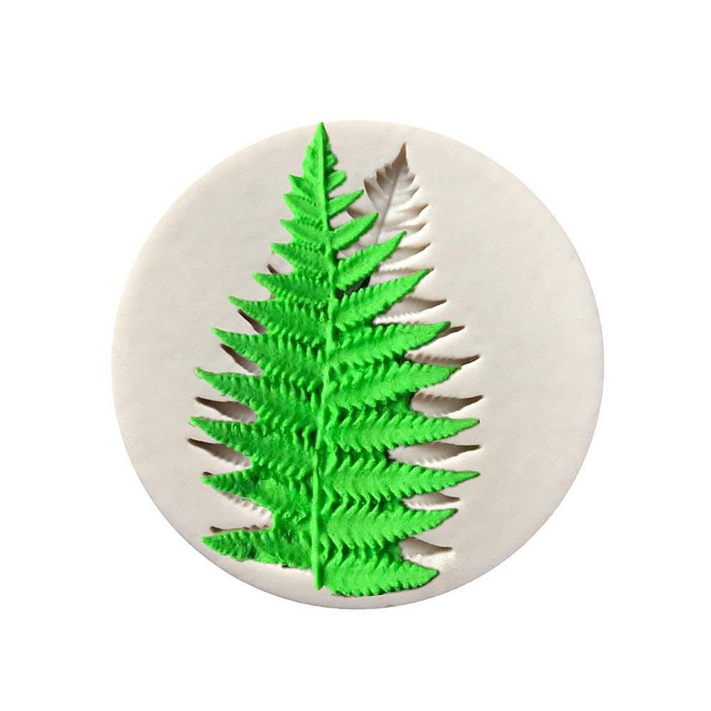 Fern Leaf Clay Silicone Mold, Epoxy Resin, Pendant Mold with Jewelry Molds,Earring Necklace Making and DIY Craft Making,Fondant Candy Mold